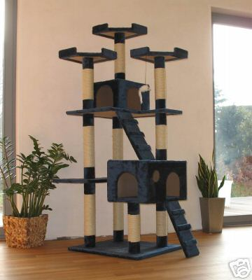 arbre a chat immense. Black Bedroom Furniture Sets. Home Design Ideas